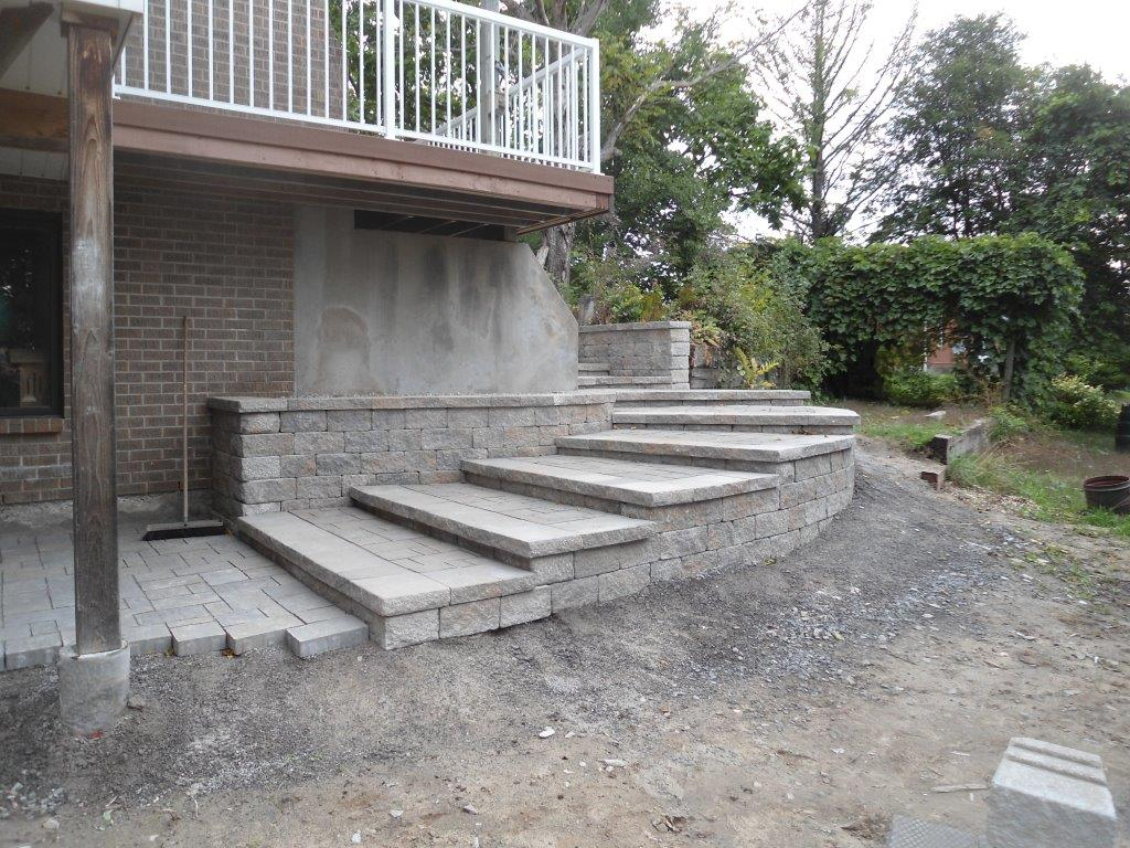 Your Trusted Concrete Walkway U0026 Staircase Contractor In The Ottawa Area